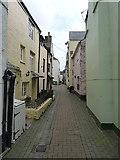 SX2553 : Deepest Looe - houses off Buller Street by Richard Law