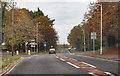 SK8191 : Autumn colours on A159 Morton Road by J.Hannan-Briggs