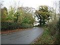 SJ5951 : Bend in Nantwich Road, Boterleyhill by JThomas