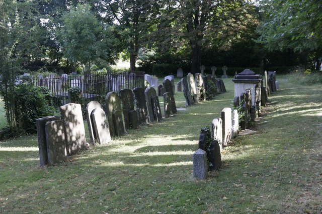 Headstones at the St Clements