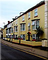 SX9372 : Yellowish apartments, Northumberland Place, Teignmouth  by Jaggery