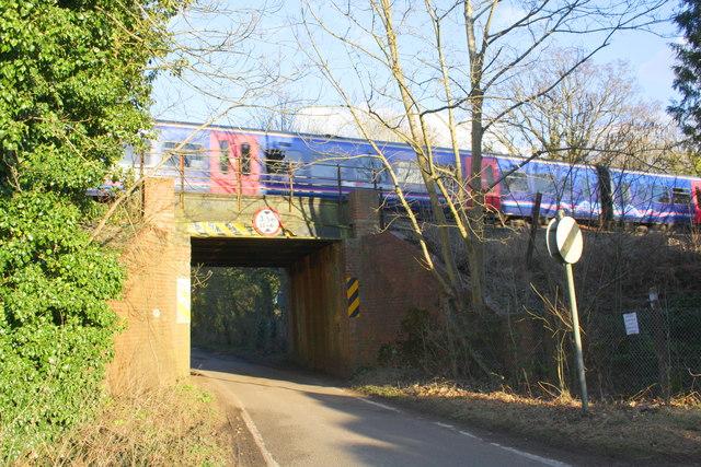 Railway Bridge on Luckley Road