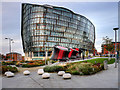 SJ8499 : One, Angel Square, Manchester by David Dixon