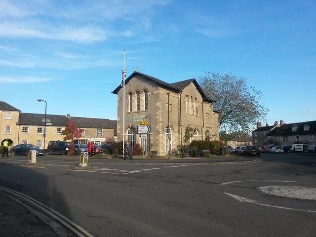 Bampton: town centre