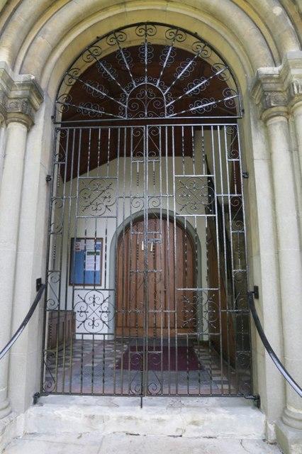 Gate on the Doorway