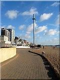 TQ2904 : Lower Esplanade, Brighton by Simon Carey