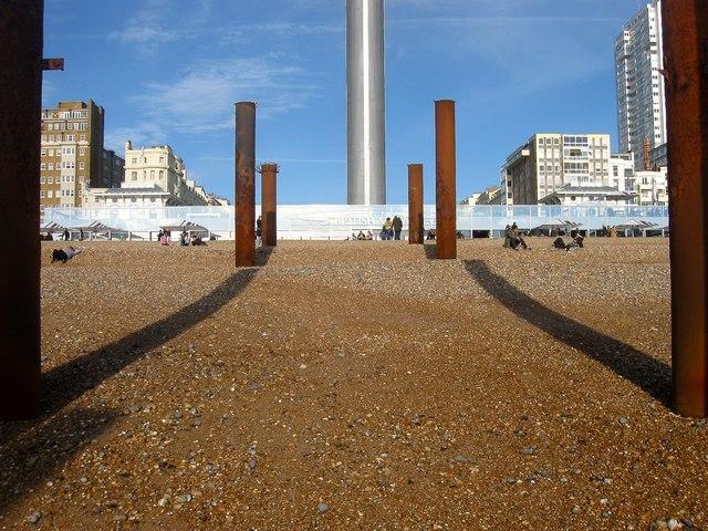 Columns, West Pier, Brighton