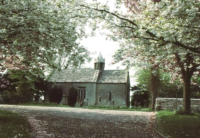 Acton Turville Church, Gloucestershire 1983
