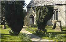 ST8080 : Acton Turville Church, Gloucestershire 2012 by Ray Bird