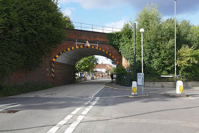 Ash Vale railway arch