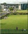 SX9065 : Playing field, Torquay Academy by Derek Harper