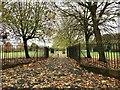 SJ8945 : Fenton Park: Morville Close entrance by Jonathan Hutchins