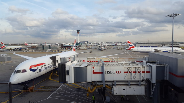 Terminal 5, Heathrow Airport, London