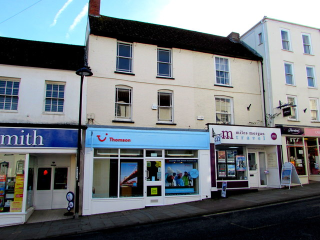 Two travel agents in High Street Chepstow