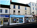 ST5393 : Two travel agents in High Street Chepstow by Jaggery