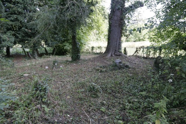 Cleared Area of the Churchyard