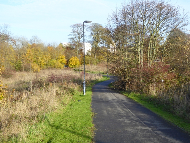 Cycle- and foot-path in East Herrington