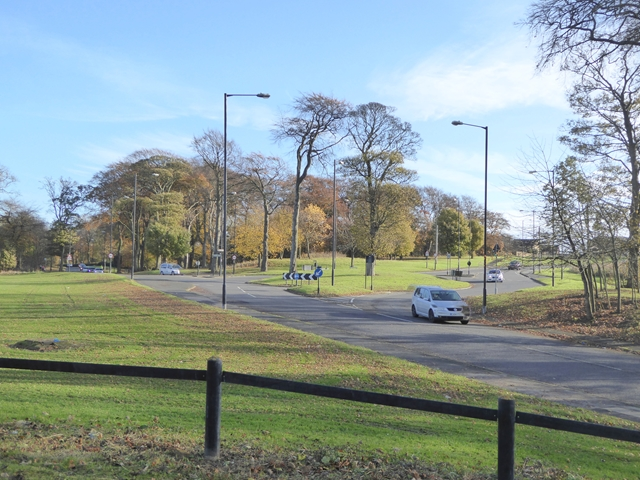 Roundabout on Silksworth Road
