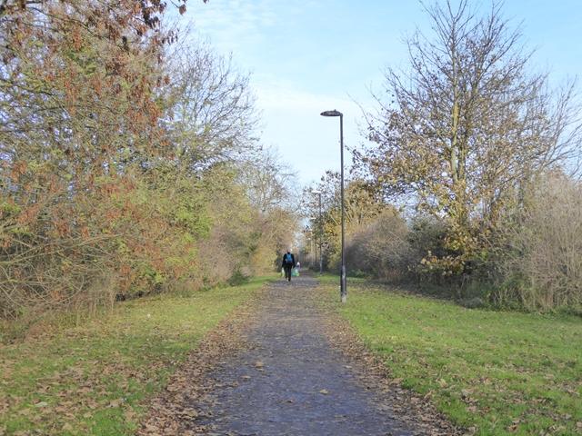 Cycle path at East Herrington