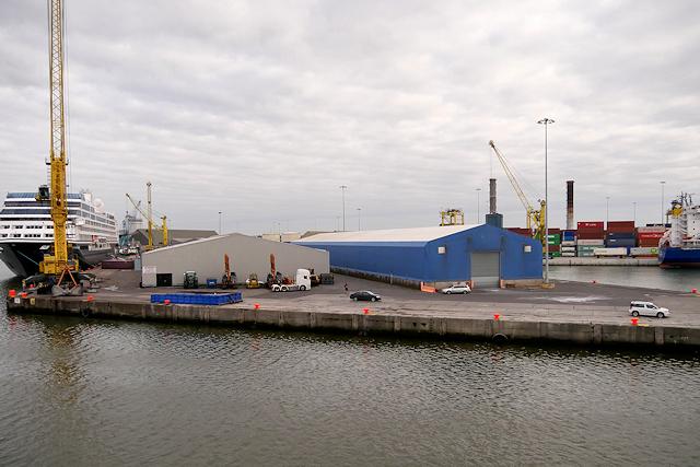 Quayside, Dublin Harbour