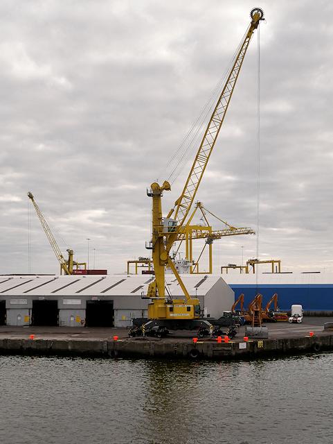Crane at Port of Dublin