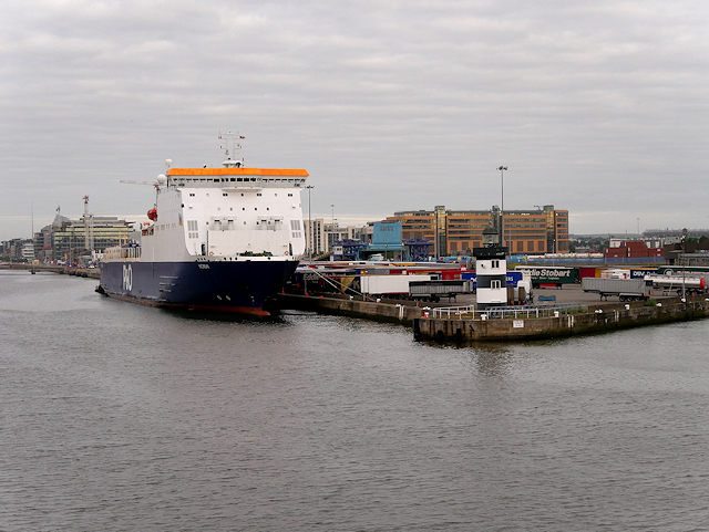 North Wall Quay Lighthouse and Ferry Terminal, Dublin