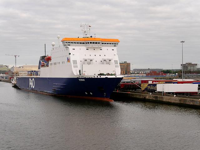Port of Dublin, P & O Ferry Terminal