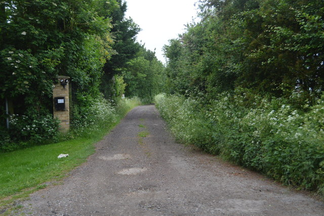 Track to Rectory Farm