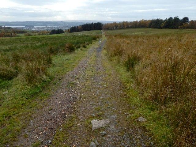 Path to Highdykes Farm