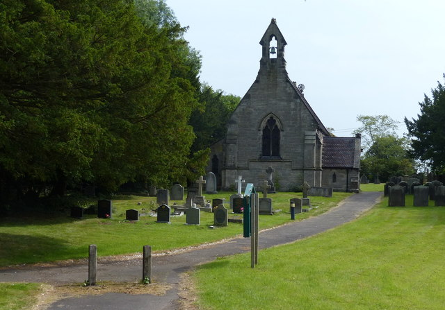 The church of St John the Baptist, Tixall