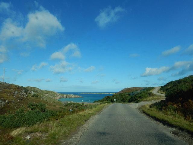 Road to Tràigh Allt Chàilgeag by James Emmans