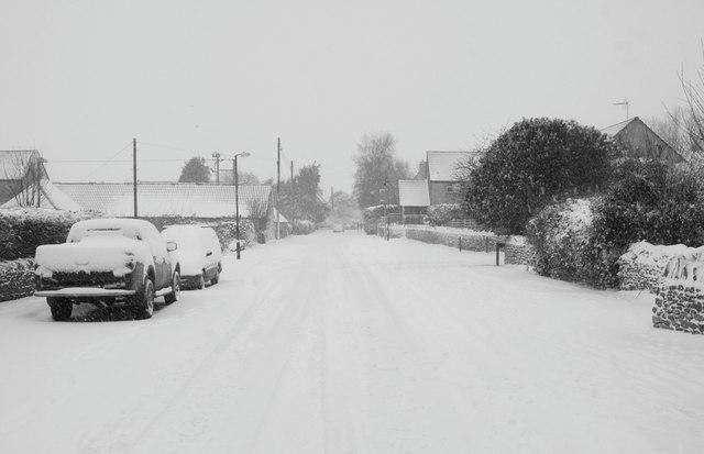 Littleton Drew Lane, Acton Turville, Gloucestershire 2013