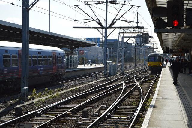 Fen Line, Cambridge Station