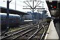 TL4657 : Fen Line, Cambridge Station by N Chadwick