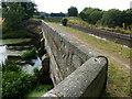 SJ9721 : Aqueduct across the River Sow by Mat Fascione