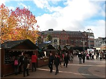 SZ0891 : Bournemouth: autumntime becomes Christmastime by Chris Downer