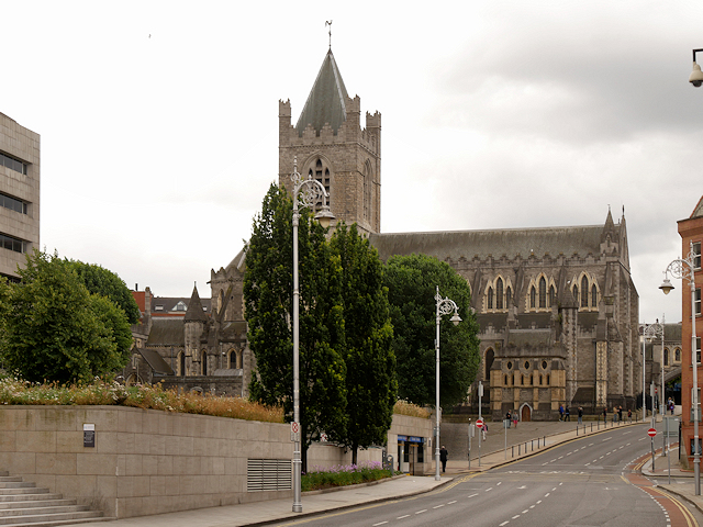 Christ Church Cathedral (from Winetavern Street)