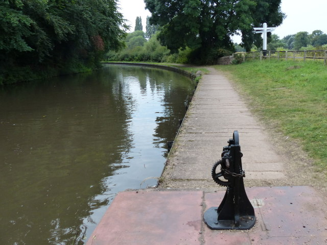 Staffordshire and Worcestershire Canal at Stafford