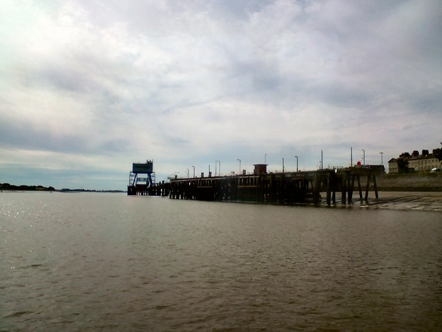 The old ferry landings