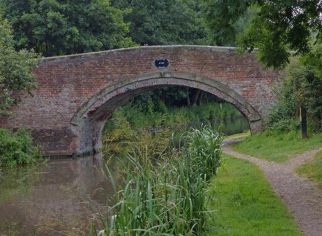 Baswich Bridge No 100