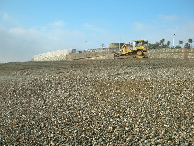 Beach management at Eastbourne