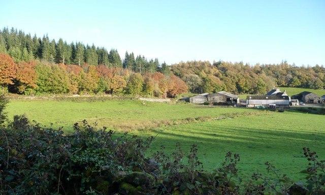 Hill Mill Brook and Walton Hall farm