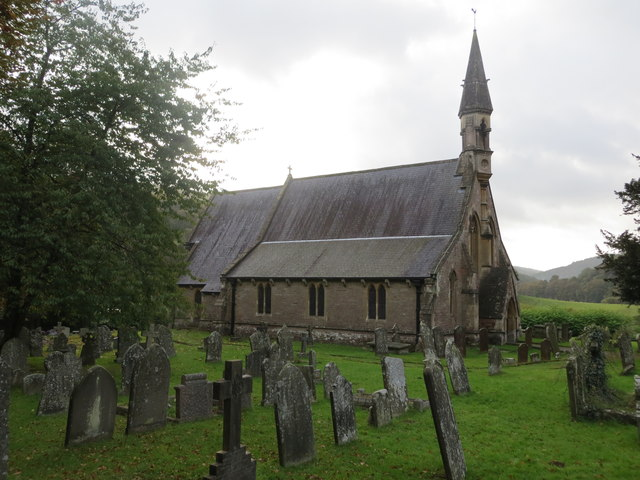 The Church of St Oudoceus in Llandogo