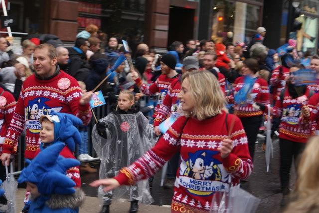 Hedgehog Christmas Jumper.View Of People With Sonic The Hedgehog C Robert Lamb Cc