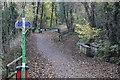 ST1891 : Celtic Trail, NCR 47, Ynys Hywel by M J Roscoe