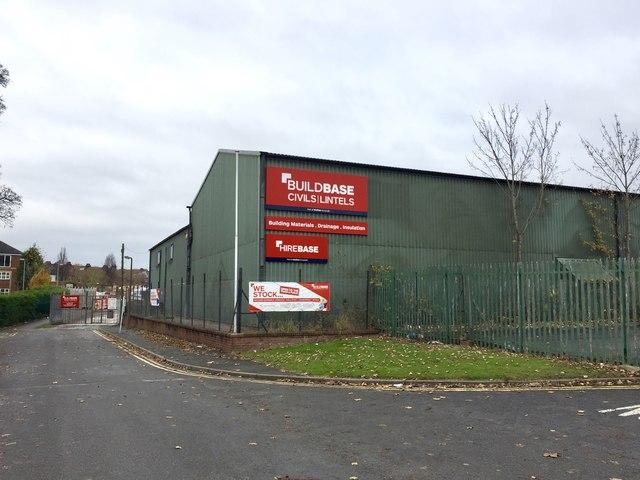 Newcastle-under-Lyme: industrial unit on Brampton Sidings