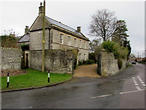 ST6976 : Grade II listed Pucklechurch House, Pucklechurch by Jaggery