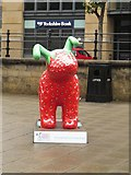 NZ2564 : Great North Snowdog Snowberry, Quayside, Newcastle upon Tyne by Graham Robson