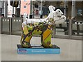 NZ2463 : Great North Snowdog Snowline, Newcastle Central Station by Graham Robson