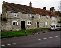 ST6976 : Stone cottages, Pucklechurch by Jaggery